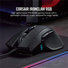 Chuột Corsair IRONCLAW RGB WIRELESS Gaming (CH-9317011-NA) (Bluetooth-Wireless)