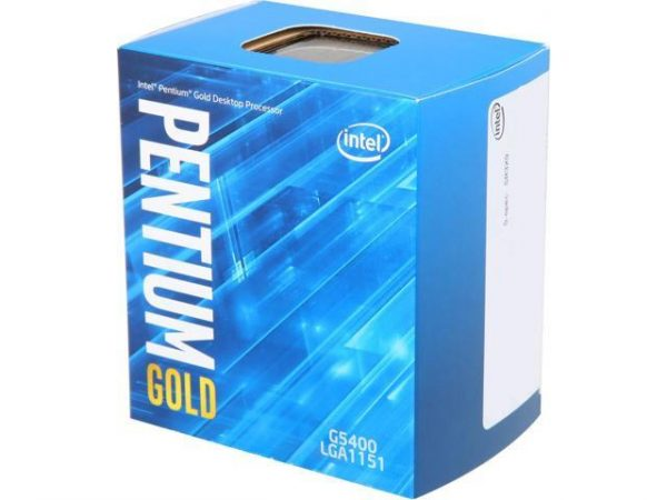 CPU Intel Pentium G5400 (3.7GHz, 2C4T, 4MB, 1151 Coffee Lake )