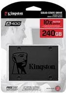 Ổ SSD Kingston SA400 240Gb SATA3 (đọc: 500MB/s /ghi: 350MB/s)