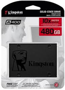 Ổ SSD Kingston SA400 480Gb SATA3 (đọc: 500MB/s /ghi: 450MB/s)