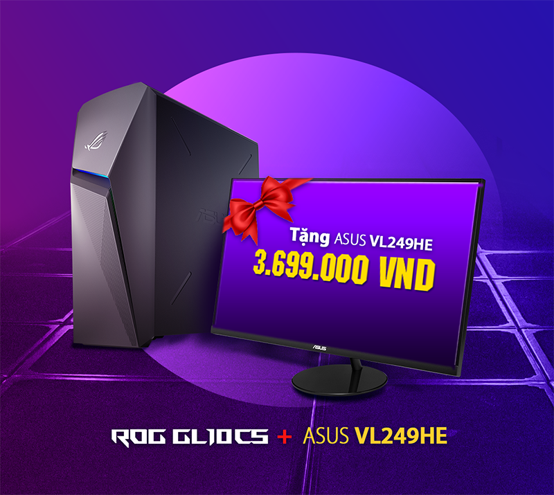 PC ASUS ROG Strix GL10CS-VN021T